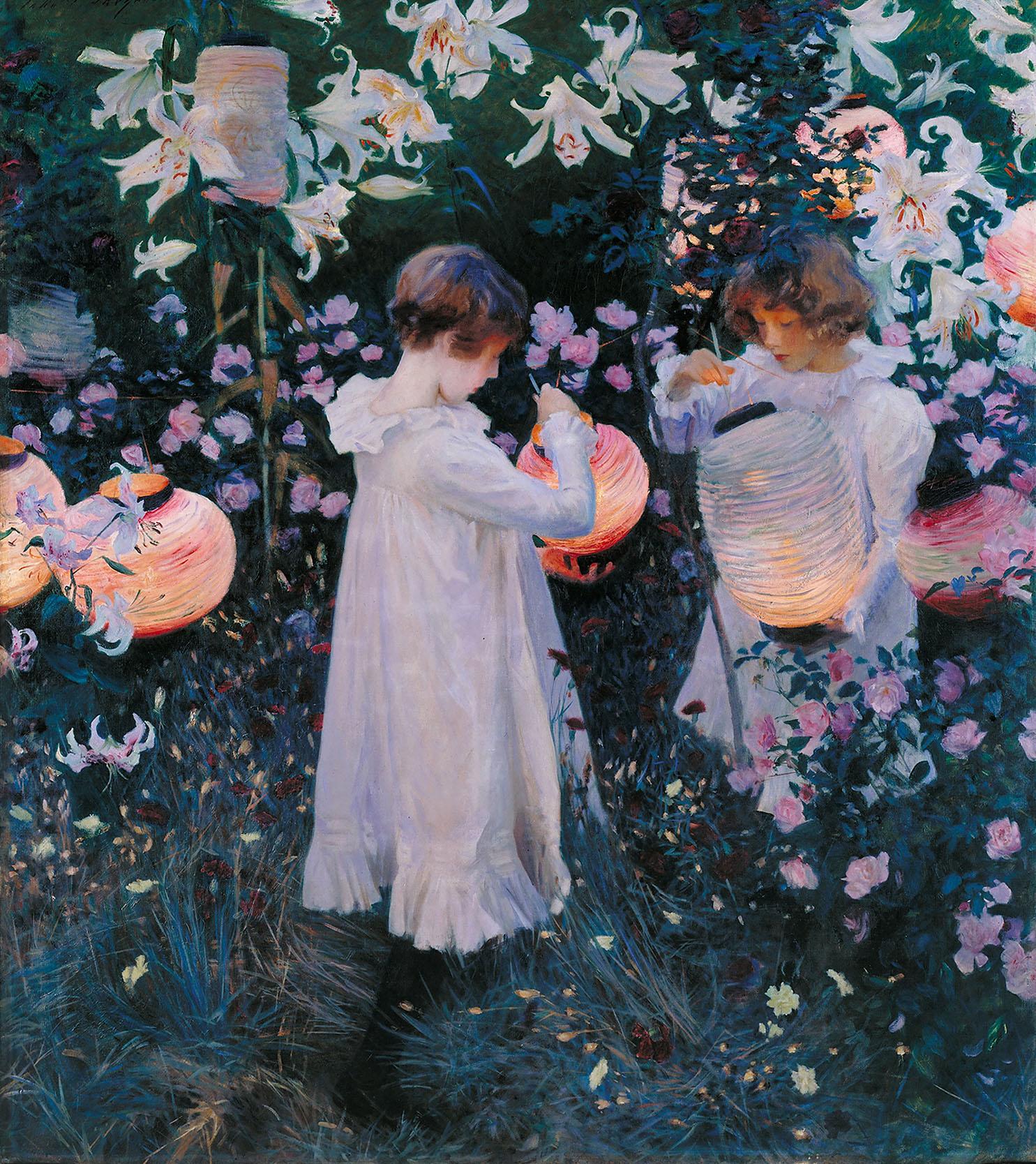 John Singer Sargent - Carnation, Lily, Lily, Rose.jpg