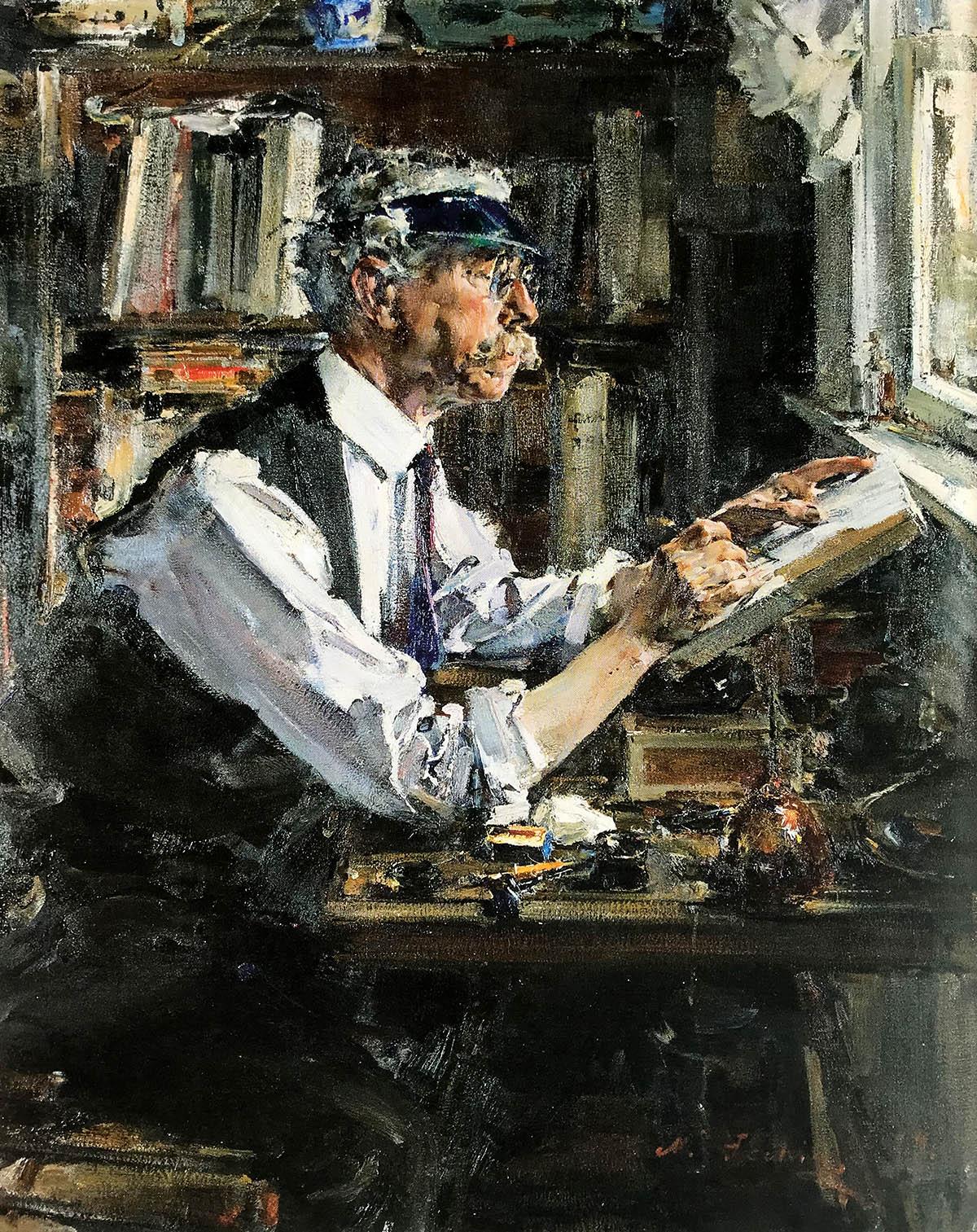 Nicolai Fechin - The Wood Engraver