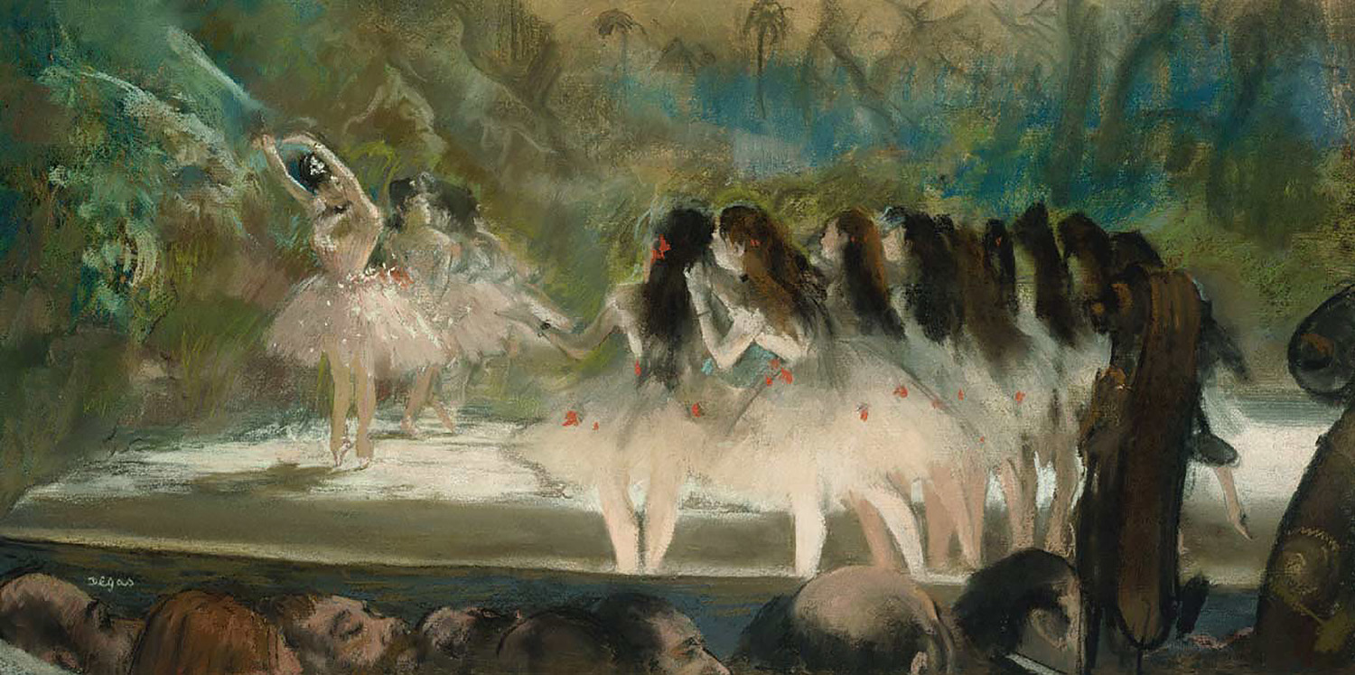 Edgar Degas - Ballet at the Paris Opera.jpg