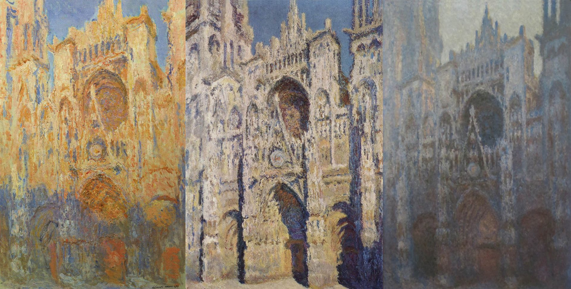 Claude Monet - Cathedrale di Rouen