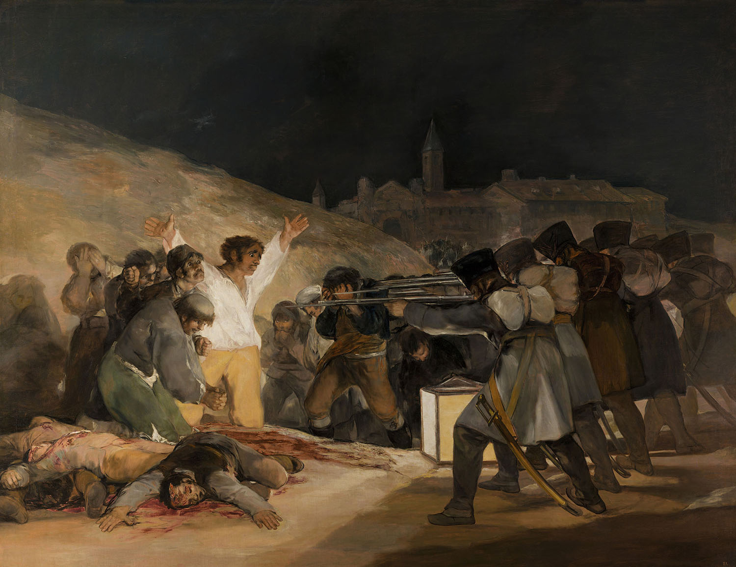 Francisco de Goya - The Shootings of May 3rd, 1808