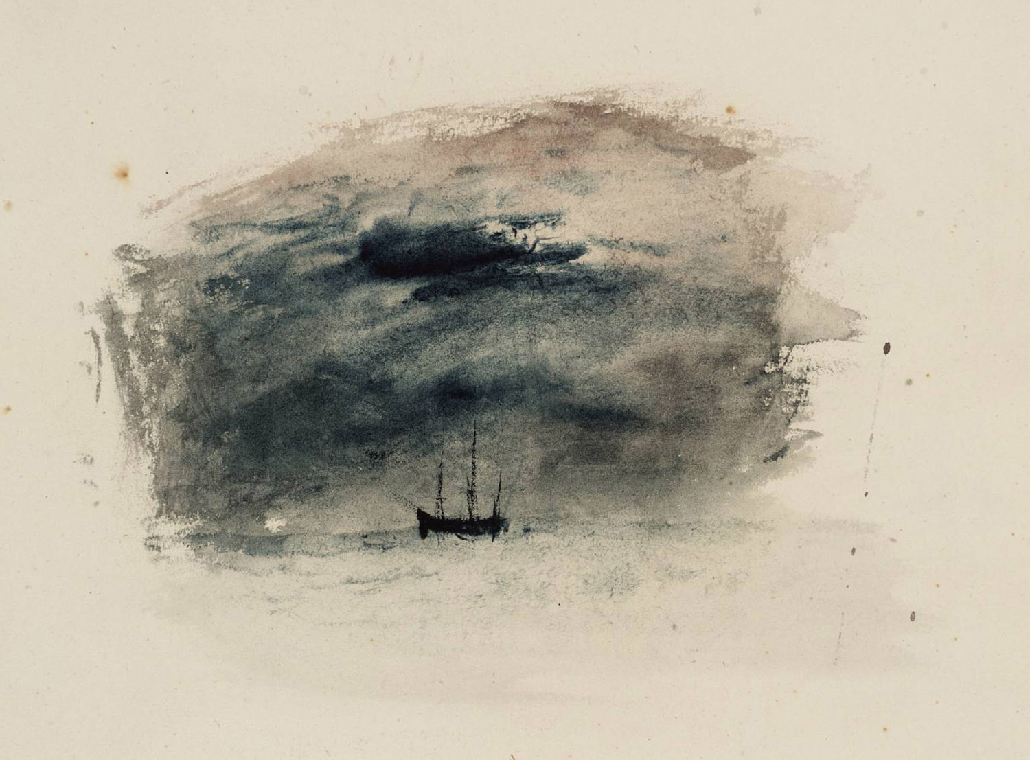 William Turner - The Black Boat