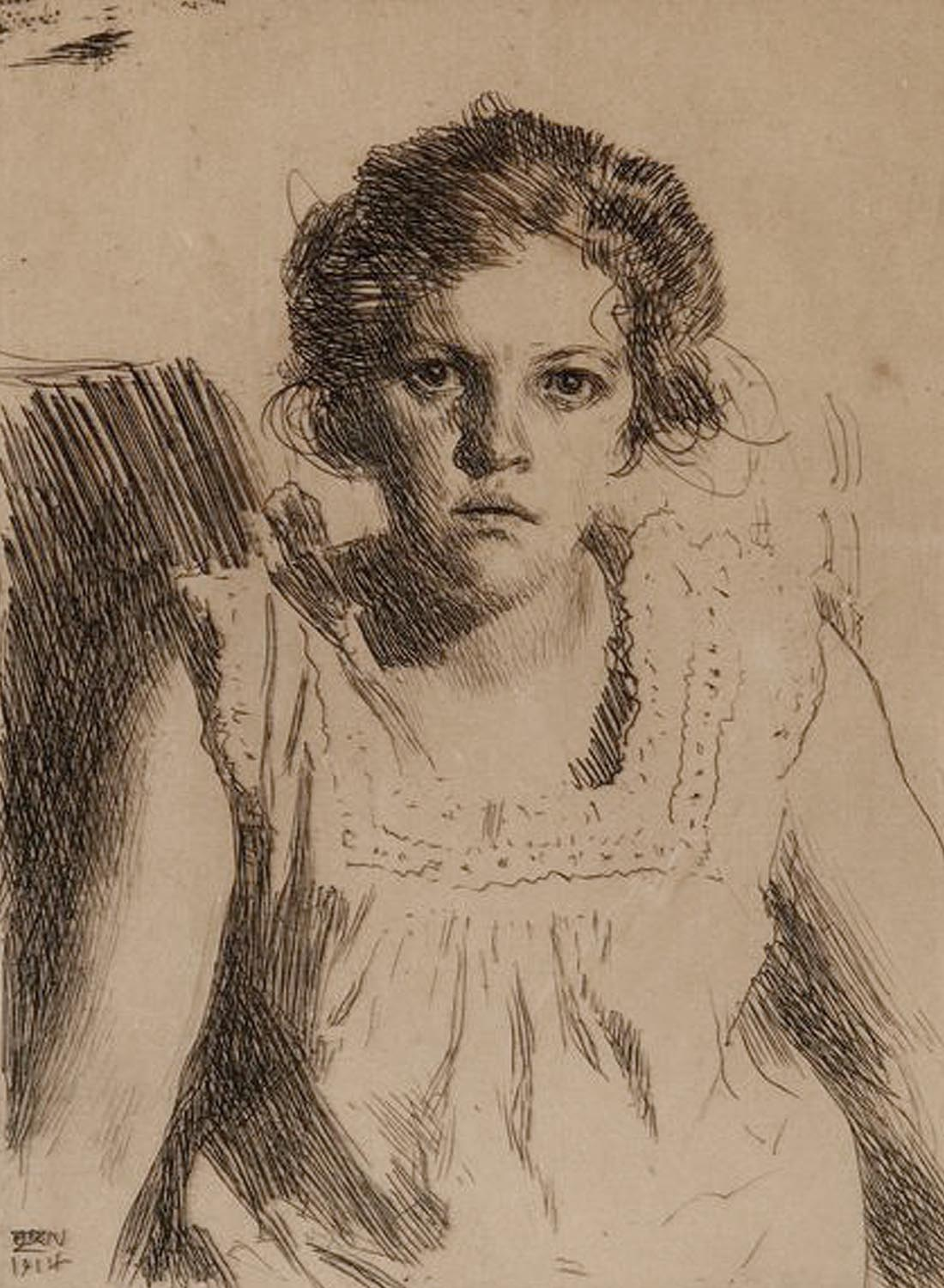 Anders Zorn - Etching