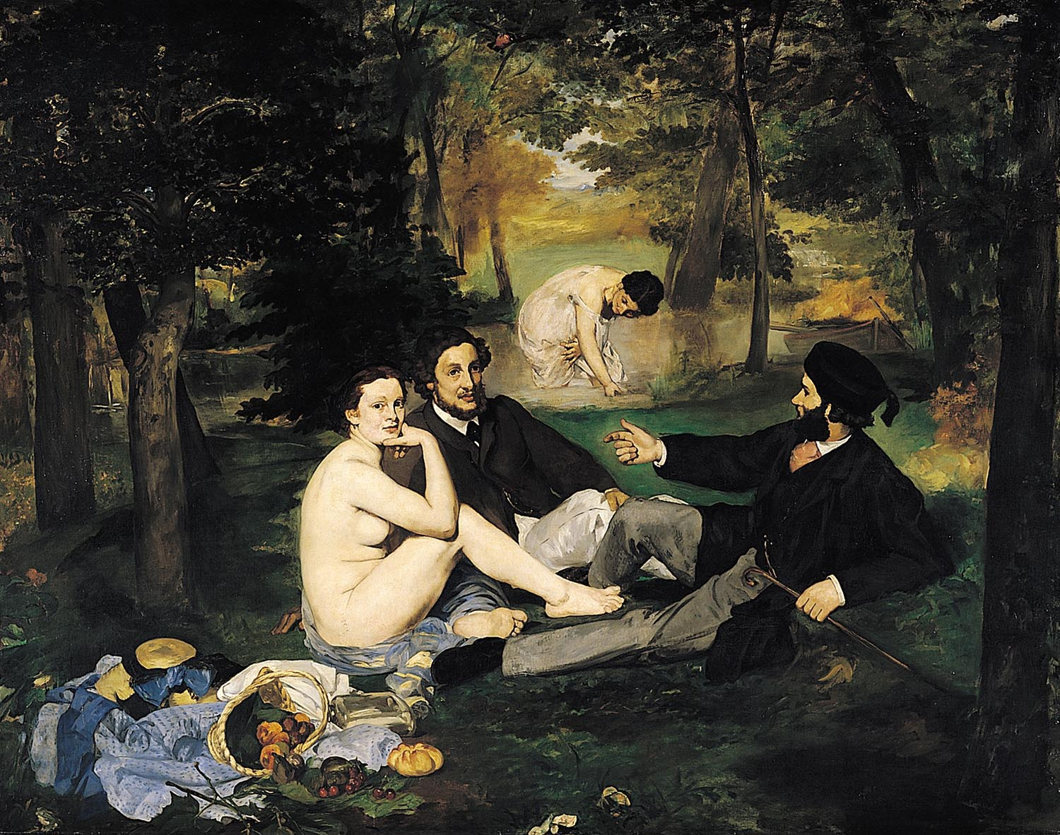 Edouard Manet - The Lunch on the Grass