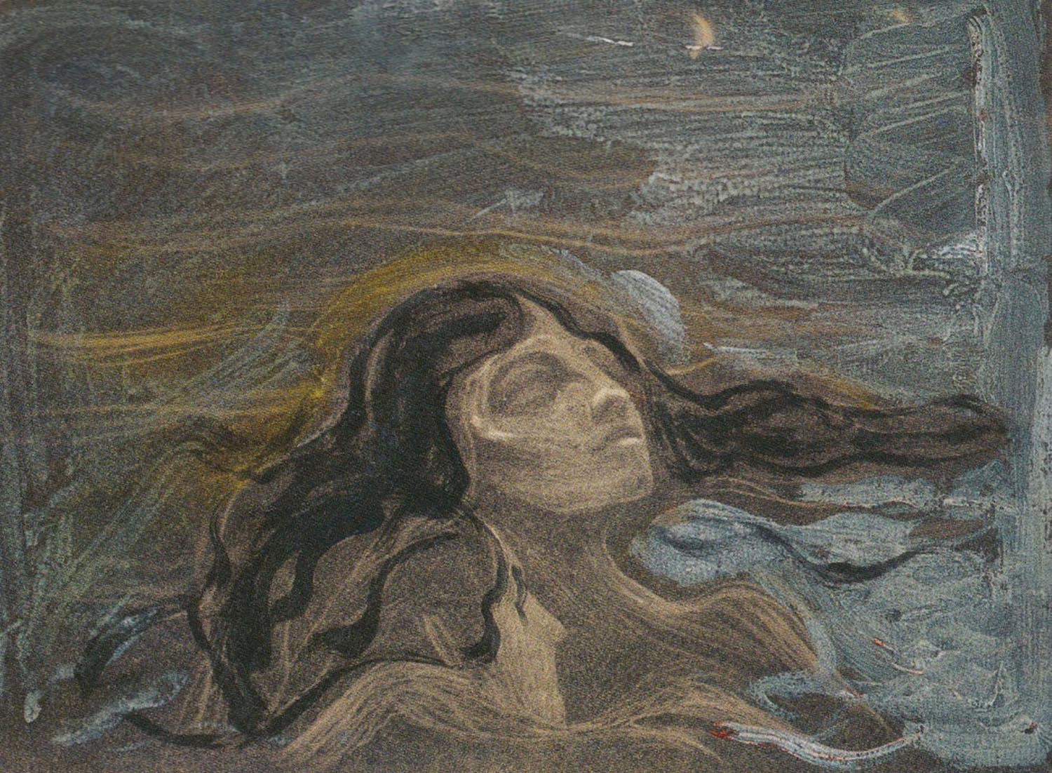 Edvard Munch - On the Waves of Love